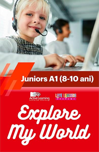Explore My World - Juniors A1 (8-10 ani)