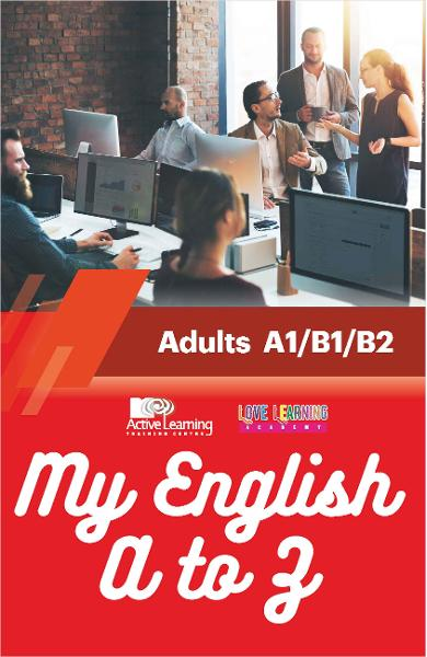 My English A to Z - Adults A1/B1/B2