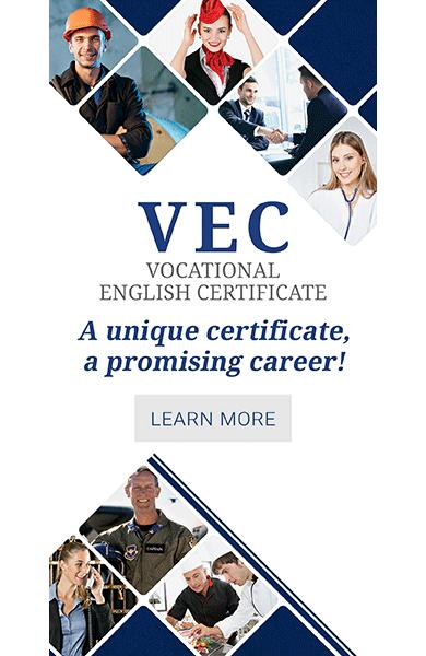 Vocational English Certificate