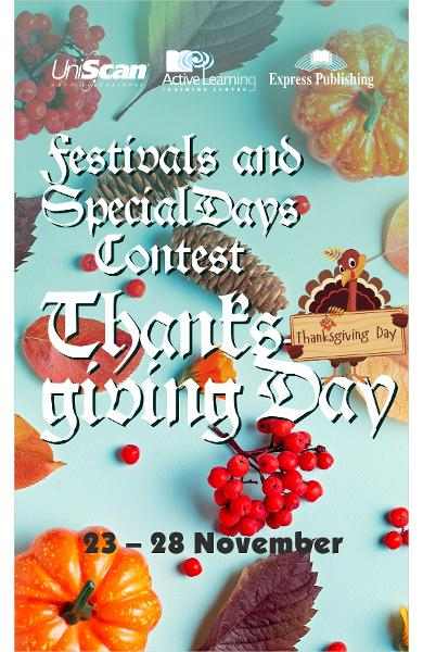 Festivals and Special Days - November Round: Thanksgiving Day
